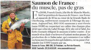 Saumon de France Figaro magazine