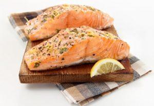 Saumon frais saumon de France à la plancha