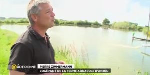 Ferme Aquacole d'Anjou - France 5