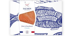Saumon France Fumé artisanalement - 4Tranches