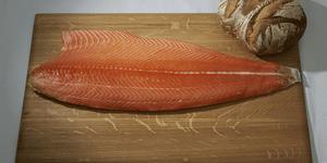 vente saumon frais