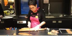 Le Saumon de France mis en valeur chez Fauchon