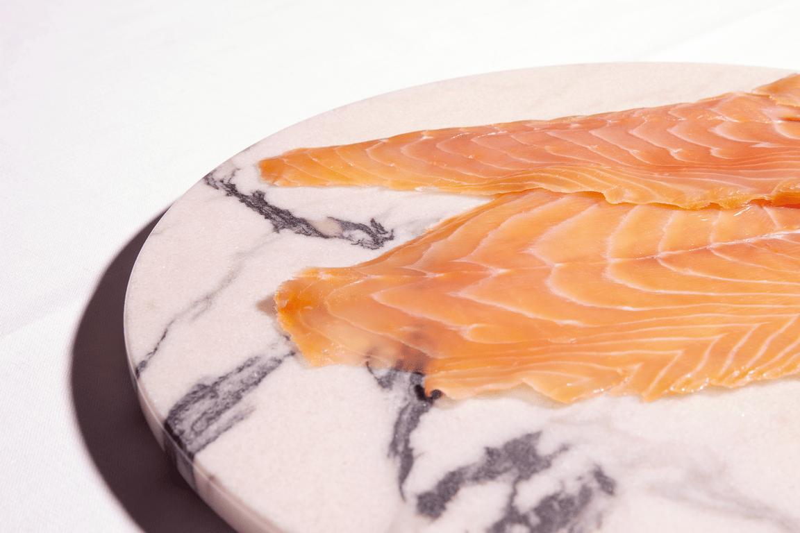 Saumon fum 4 tranches saumon de france - Prix du saumon ...