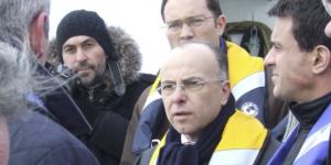 Le 16/02/2012 en rade de Cherbourg
