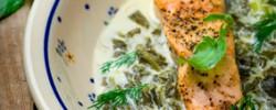 Le saumon à l'oseille conté par Saumon de France