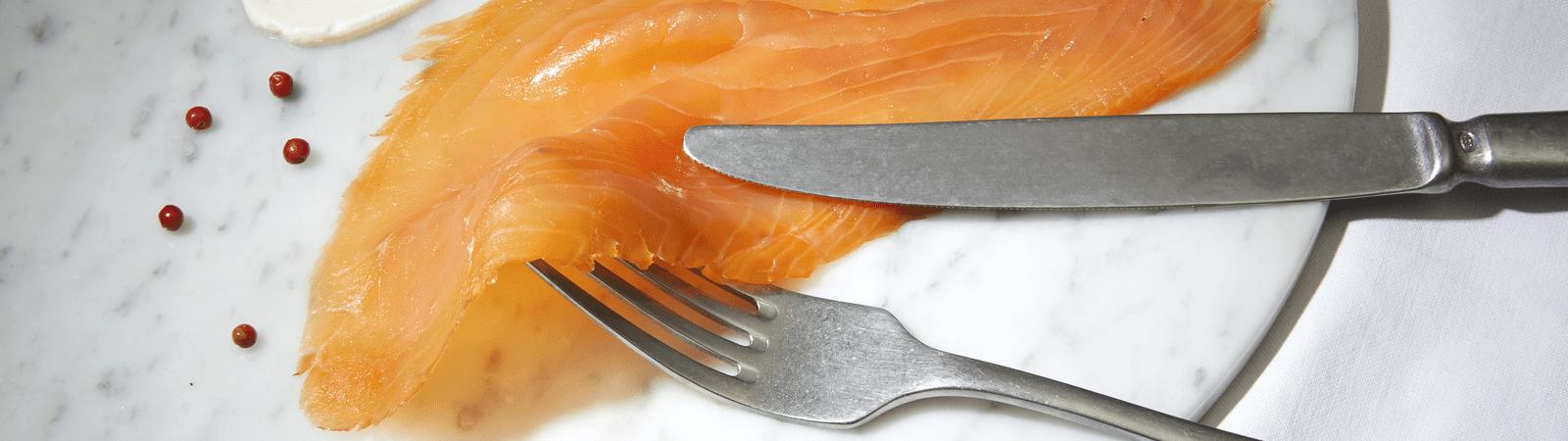 Assiette saumon de France fumé mini