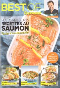 Couverture Best of Goumand-Nos 70 meilleures recettes au saumon