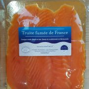 Truite fumée de France élevée en mer en France