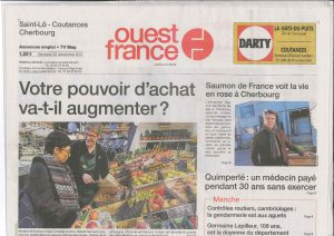 Article Ouest France 221217