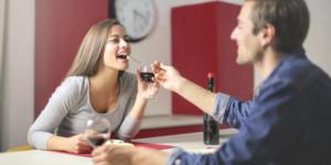 repas maison au Saumon pour la Saint valentin