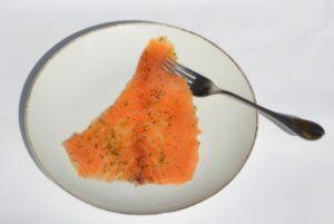 Saumon assiette