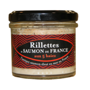 Rillettes de Saumon de France 5 baies